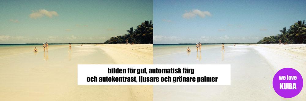 Photoshop tips med retusch, friläggning och färgläggning