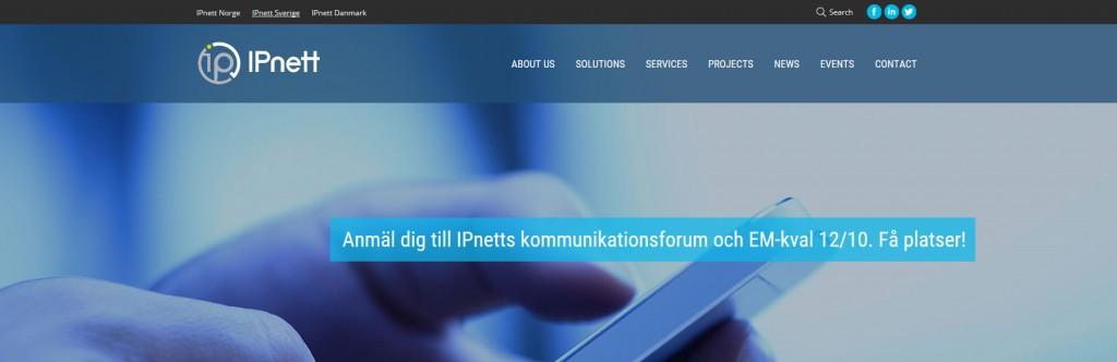 Event och webbproduktion för kund